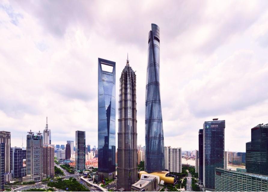 Финансовый центр в Азии французский шик в Шанхае