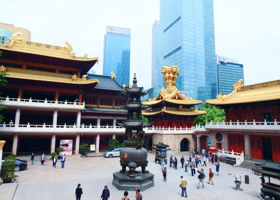 Храм Цзин Ань