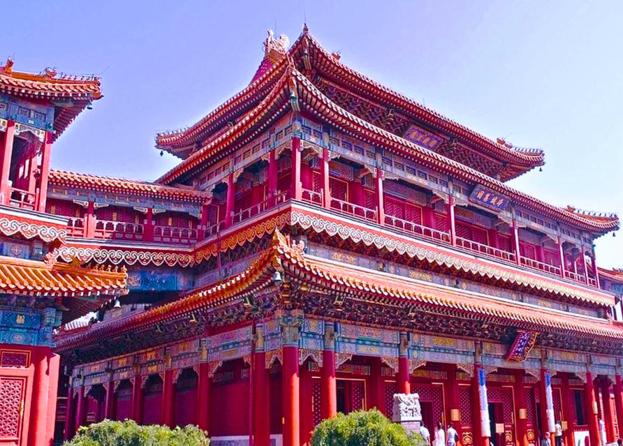 Тибетский храмовый комплекс Юнхэгун