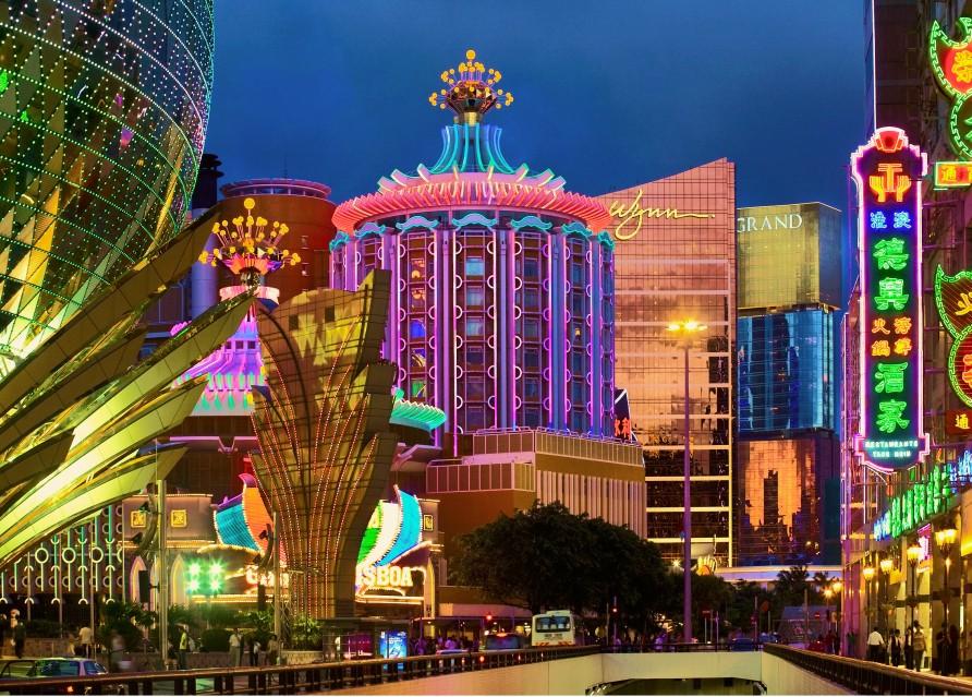 Игровая столица востока - Макао