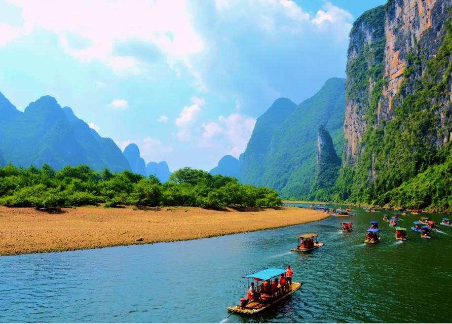 Тур на плотах по реке Ли