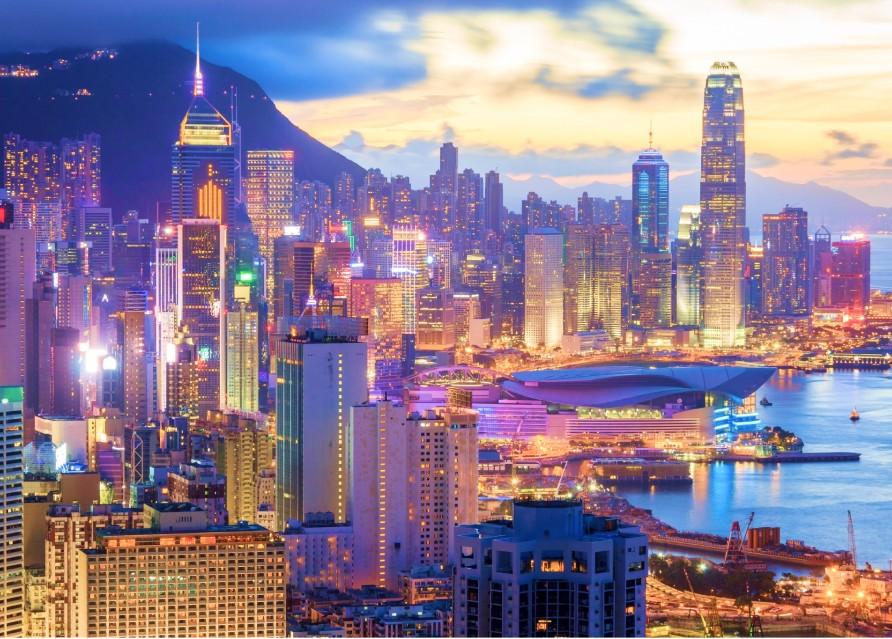Прилет в Гонконг