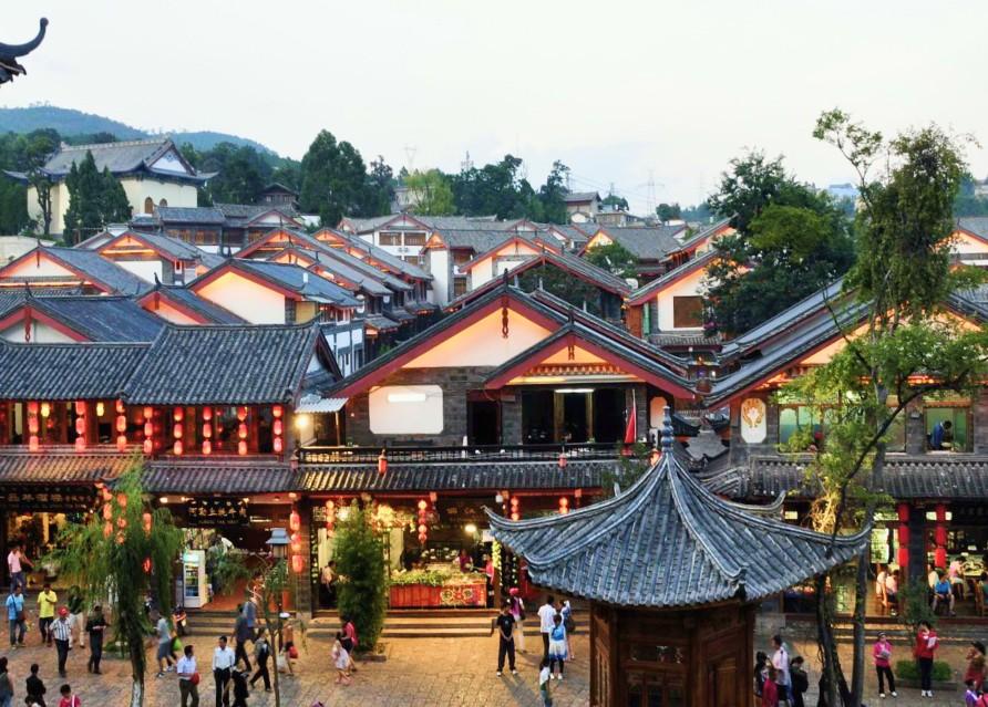 Прилет в Лицзян
