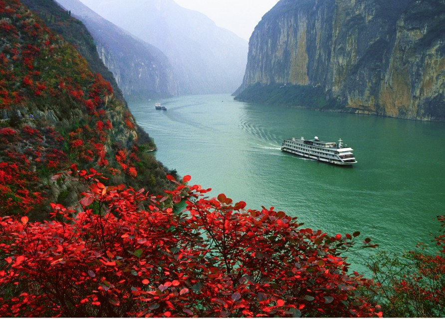 Спуск к реке Янцзы