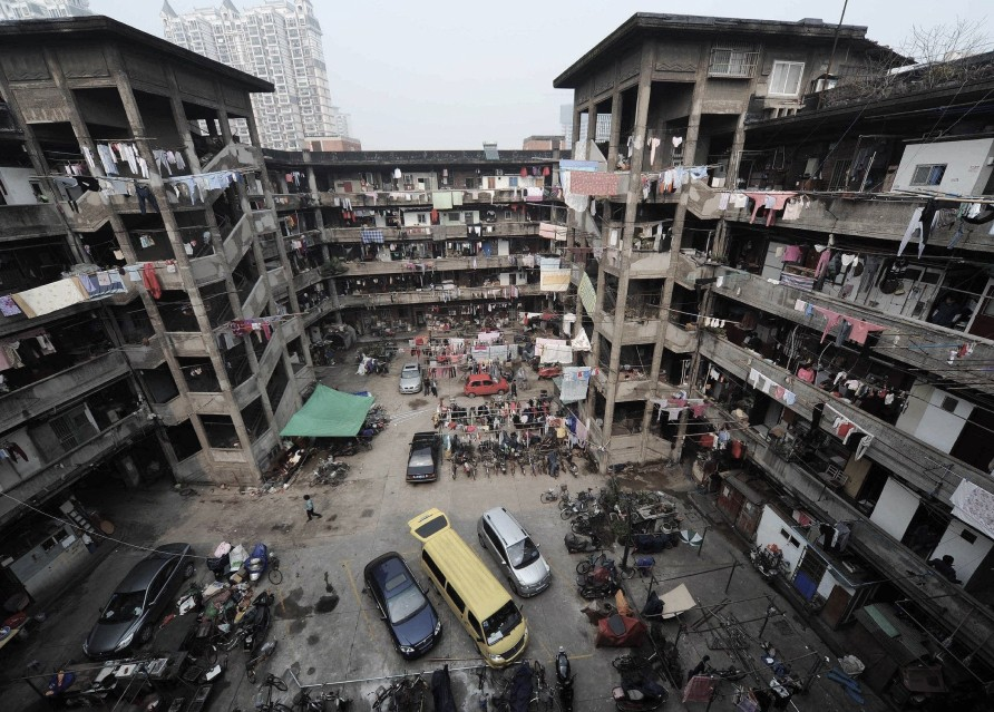 Шанхайские трущобы